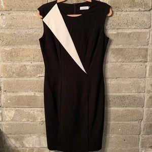 Calvin Klein Black/White dress